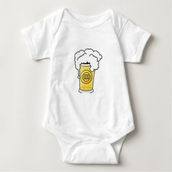 Beer Image Infant Creeper by creativeconceptss at Zazzle