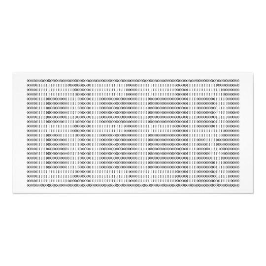Beer in Binary - ASCII Card