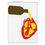 beer in chamber of the heart card