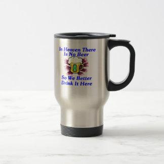 Beer in Heaven Travel Mug