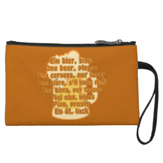 BEER in languages custom accessory bags