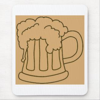 Beer In Mug/Oktoberfest Mouse Pad