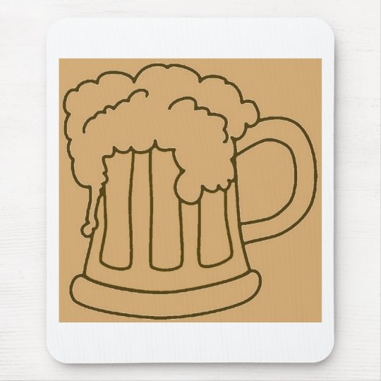 Beer In Mug/Oktoberfest Mouse Pad