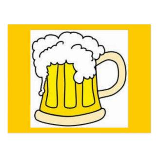 Beer In Mug/Oktoberfest Postcard