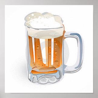 Beer In Mug/Oktoberfest Poster