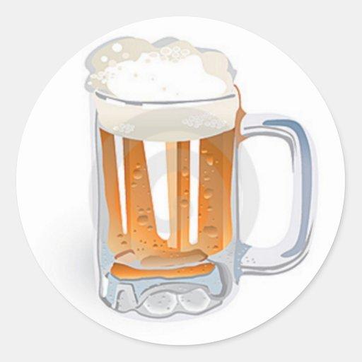 Beer In Mug/Oktoberfest Stickers