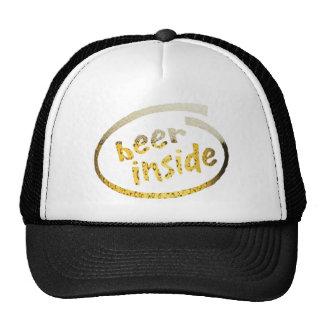 Beer Inside Trucker Hat