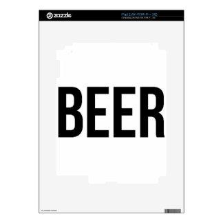 BEER iPad 2 DECAL