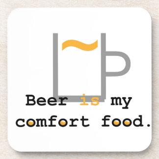 Beer is my Comfort Food Beverage Coaster