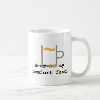 Beer is my Comfort Food Coffee Mugs