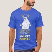 Beer is my spirit Animal T-Shirt