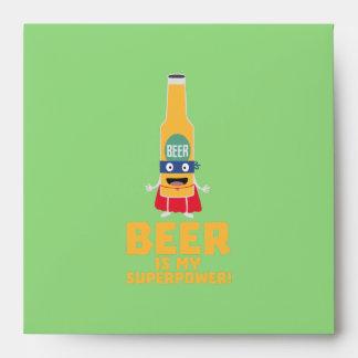 Beer is my superpower Zync7 Envelope