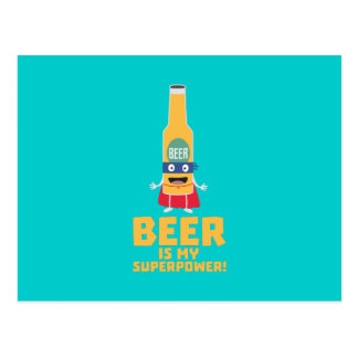 Beer is my superpower Zync7 Postcard