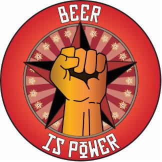 Beer Is Power Photo Sculptures