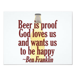 Beer is Proof Card