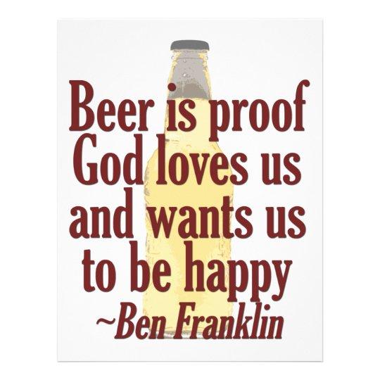 Beer is Proof Flyer