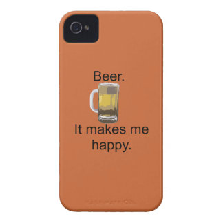 Beer. It Makes Me Happy. iPhone 4 Case