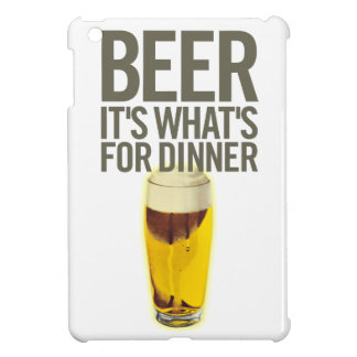 Beer It s Whats For Dinner iPad Mini Covers
