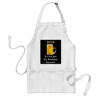 Beer - It's Not Just for Breakfast Anymore! Apron