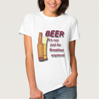 Beer it's not just for Breakfast anymore red T-Shirt