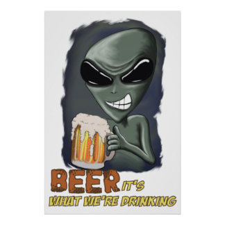 Beer It's What We're Drinking Print
