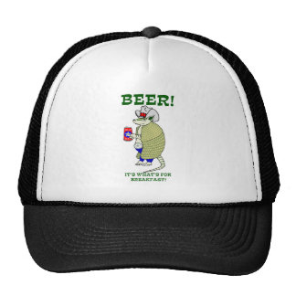 Beer It's What's For Breakfast Mesh Hat