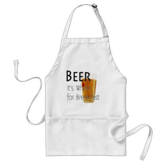Beer---Its-Whats-For-Breakfast-2 Adult Apron