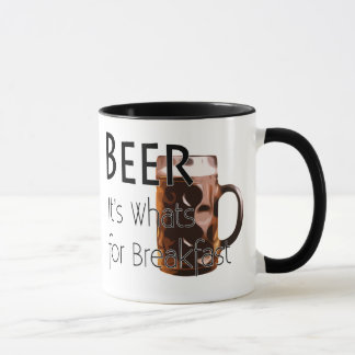 Beer - Its Whats For Breakfast Coffee Mug 3