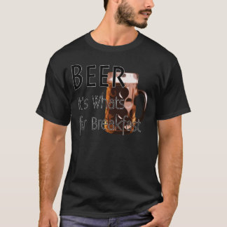Beer - Its Whats For Breakfast Dark T-Shirt 3