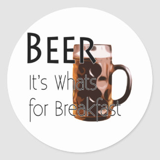 Beer - Its Whats For Breakfast Sticker 3