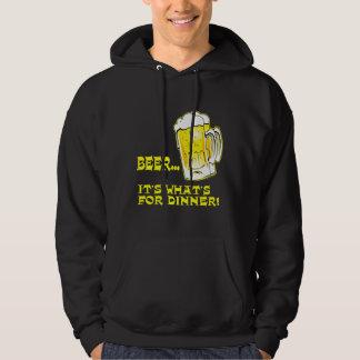 Beer - It's What's For Dinner Hoodie