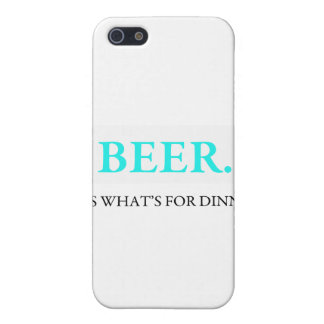 Beer It's What's For Dinner iPhone 5/5S Cover