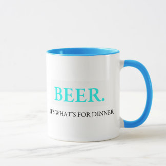 Beer It's What's For Dinner Mug