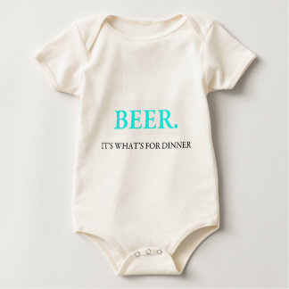 Beer It's What's For Dinner Rompers