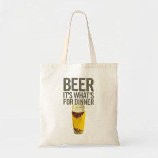 Beer It's Whats For Dinner Tote Bag