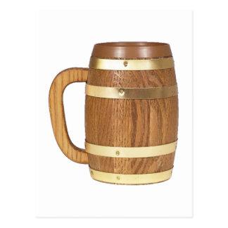 Beer jug wood more beer mug wood postcard