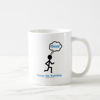 Beer - Keeps Me Running Coffee Mug