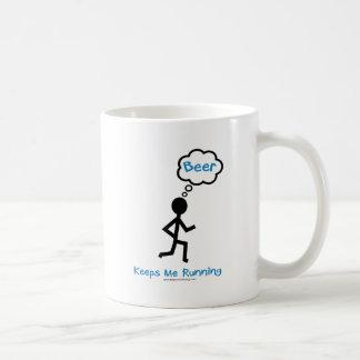 Beer - Keeps Me Running Coffee Mug
