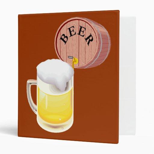Beer keg and beer stein binder