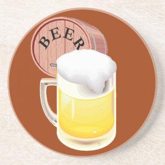Beer keg and beer stein coasters