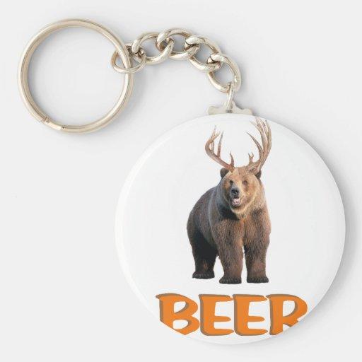 Beer Key Chain