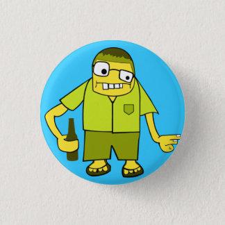 Beer Kid Pinback Button