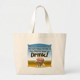 Beer Kills Weak Brain Cells T-shirts Gifts Bag