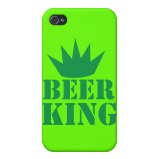 BEER KING awesome irish St Patricks day design iPhone 4/4S Case