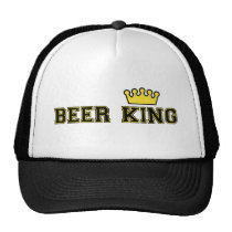 Beer King Hat with crown
