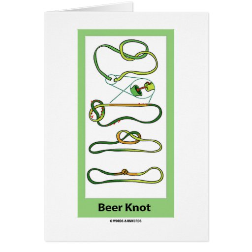Beer Knot Cards