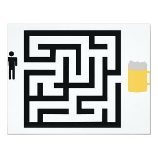 beer labyrinth icon card