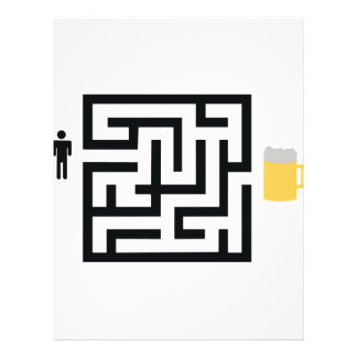 beer labyrinth icon flyers