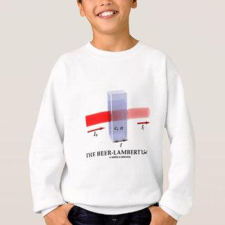 Beer-Lambert Law (Chem Optics Molar Absorptivity) Sweatshirt