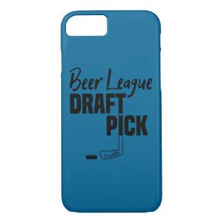 Beer League Hockey Draft Pick iPhone 8/7 Case